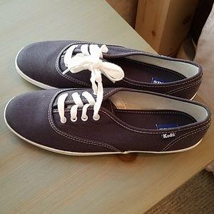Keds Women's Navy Sneakers- 8.5